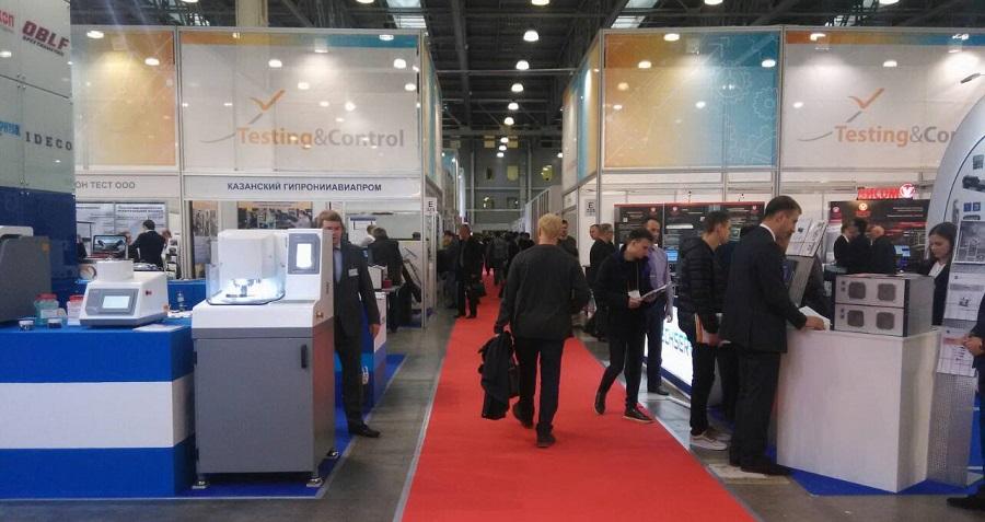 Ниеншанц-Сайнтифик на выставке испытательного и контрольно-измерительного оборудования Testing & Control 2018