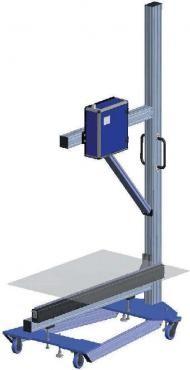 Передвижная установка для контроля качества плёнки
