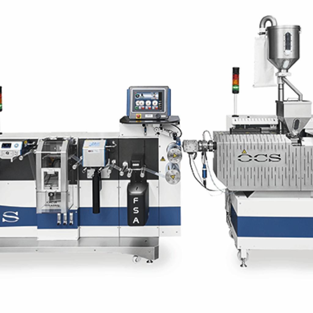 OCS Maschine 03 линия плоской плёнки
