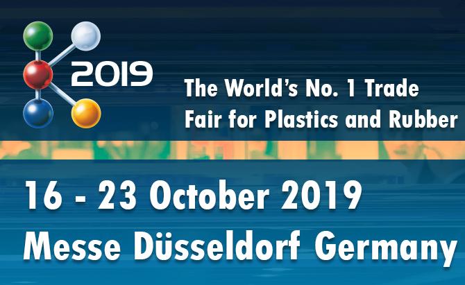 К-2019 16-23 октября 2019 года в Дюссельдорфе, Германия
