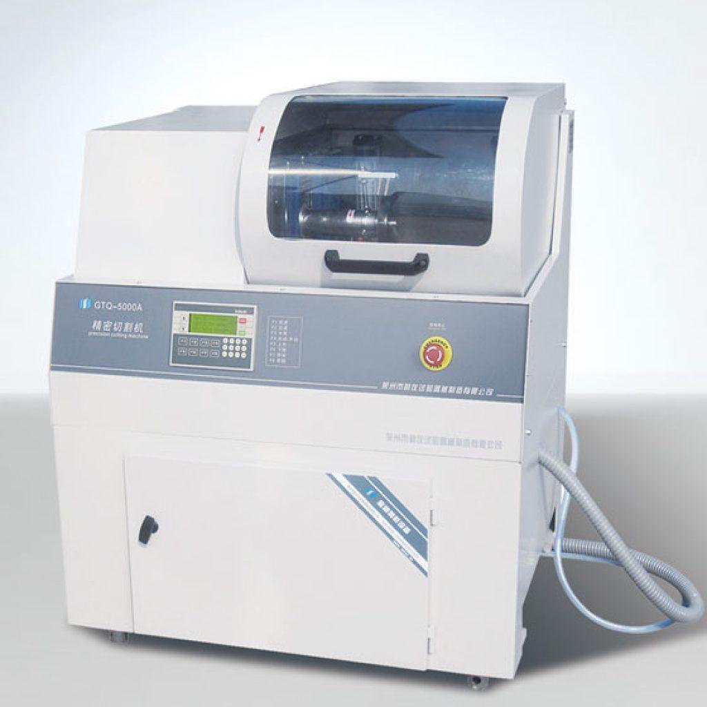 GTQ-5000A – прецизионный автоматический отрезной станок