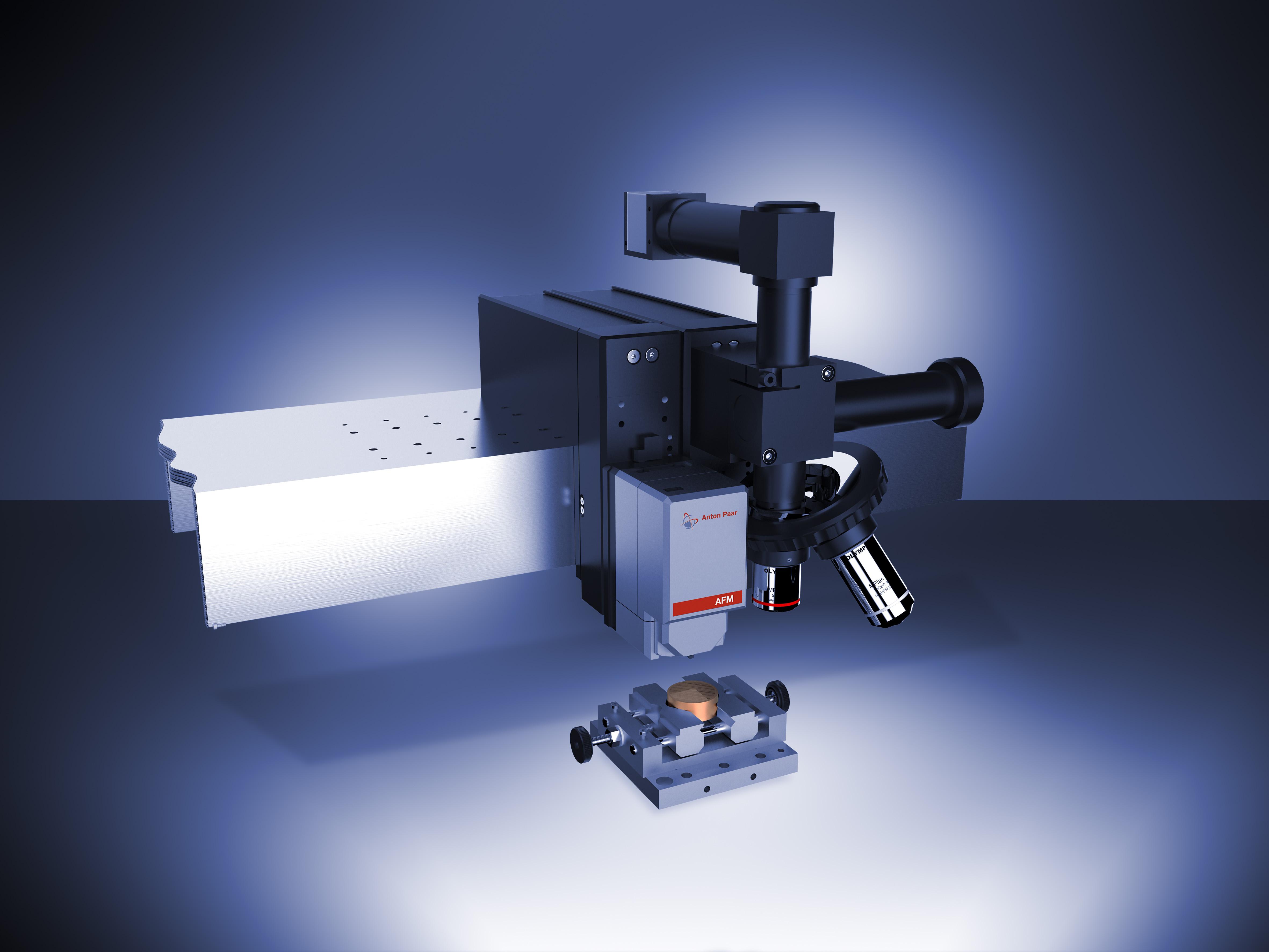 Модуль Wide Scan AFM на балке Платформы с Видеомикроскопом