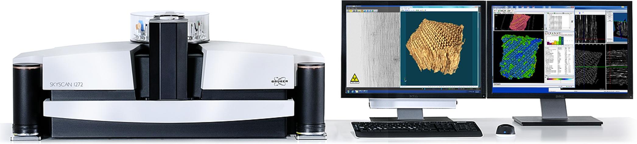 Рентгеновский  микротомограф высокого разрешения  SkyScan 1272