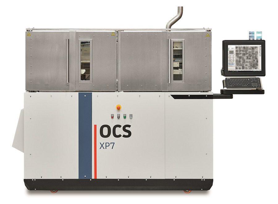Новый рентгеновский сканер гранул XP7 для выявления металлических включений