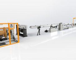 Линия производства кабельных покрытий и оптических волокон