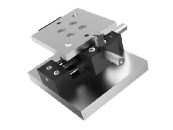 Столик XY с ручным перемещением в диапазоне +/- 7 мм